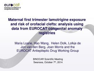 BINOCAR Scientific Meeting  Swansea,  October 7 th , 2014