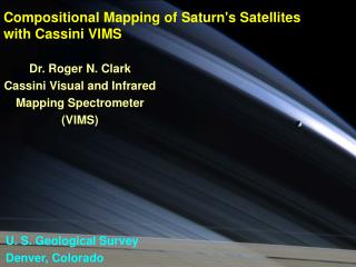 Compositional Mapping of Saturn's Satellites with Cassini VIMS