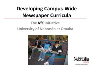 Developing Campus-Wide Newspaper Curricula