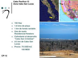 Cabo Pacífico-13 Zona Cabo San Lucas