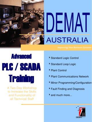 Advanced PLC / SCADA Training