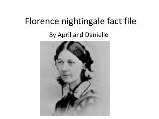 Florence nightingale fact file
