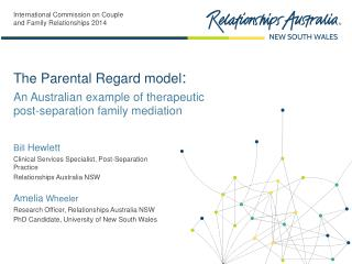 An Australian example of therapeutic  post-separation family mediation