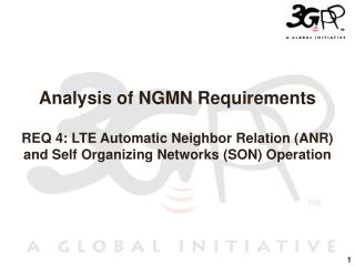 LTE Automatic Neighbor Relation (ANR)