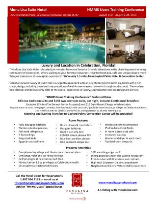Luxury and Location in Celebration, Florida!