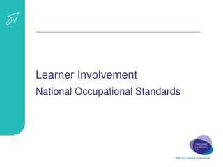 Learner Involvement National Occupational Standards