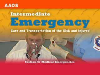 Chapter 19 Respiratory Emergencies