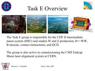 Task E Overview