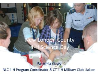 New London County  4-H Science Day