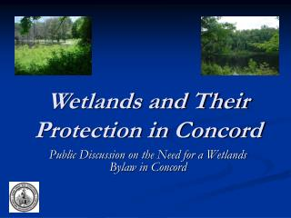 Wetlands and Their Protection in Concord