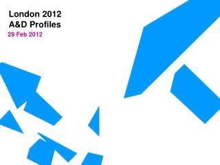 A&D Profiles