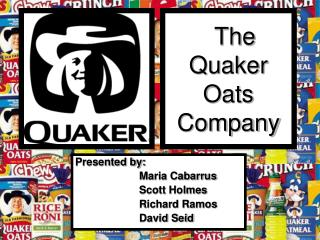 The Quaker Oats Company