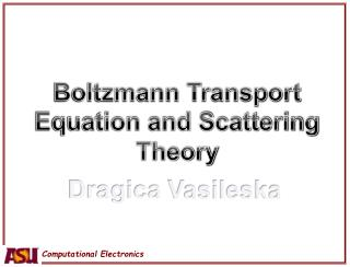 Boltzmann Transport Equation and Scattering Theory