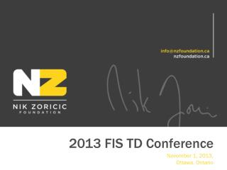 2013 FIS TD Conference