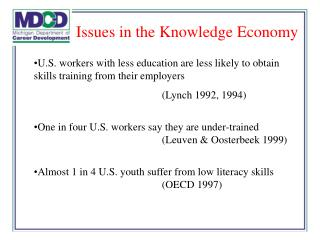 U.S. workers with less education are less likely to obtain skills training from their employers