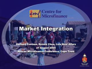 Market Integration