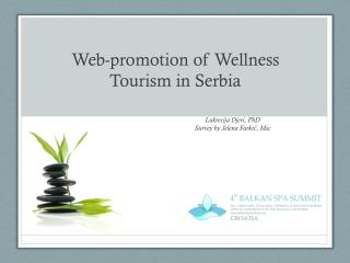 Web-promotion of Wellness Tourism in Serbia