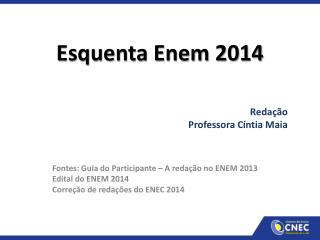 Esquenta Enem 2014