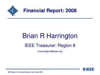 Financial Report: 2008