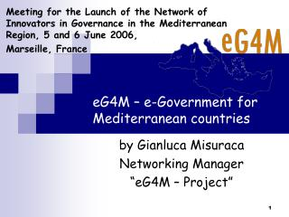 eG4M – e-Government for Mediterranean countries