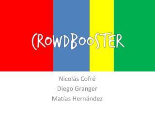 Nicolás Cofré Diego Granger Matías Hernández