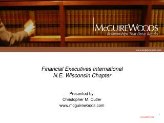 Financial Executives International  N.E. Wisconsin Chapter