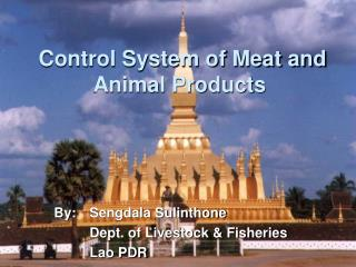 Control System of Meat and Animal Products