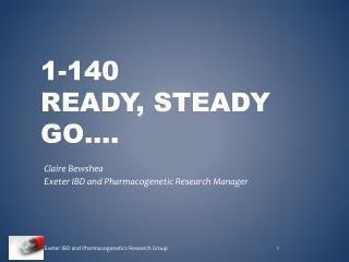 1-140  ready, steady Go….