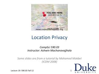 Location Privacy
