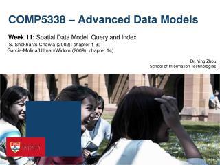 COMP5338 – Advanced Data Models