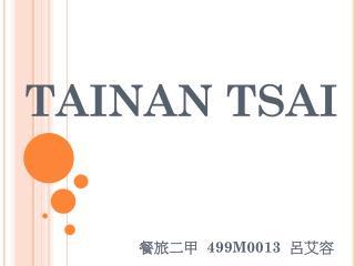 TAINAN TSAI