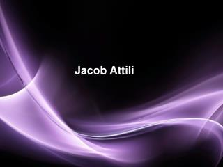 Jacob Attili Is Fond Of Cooking