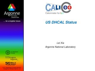 US DHCAL Status