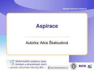 Aspirace