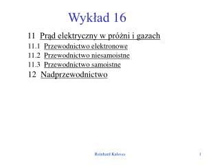 Wyk?ad 16