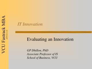 IT Innovation