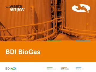 BDI  BioGas