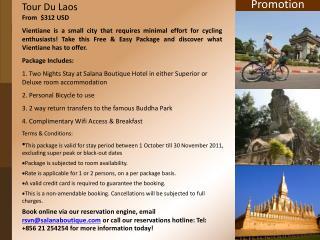 Tour Du Laos
