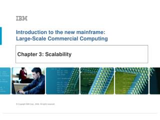 Chapter 3: Scalability