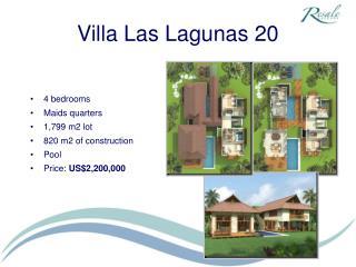 Villa Las Lagunas 20