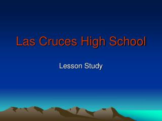 Las Cruces High School