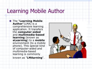 Learning Mobile Author