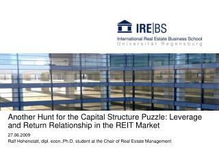 Another Hunt for the Capital Structure Puzzle: Leverage and Return Relationship in the REIT Market