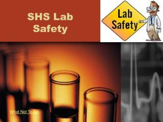 SHS Lab Safety