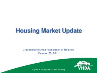 Housing Market Update