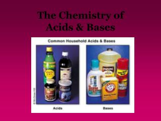 The Chemistry of  Acids & Bases