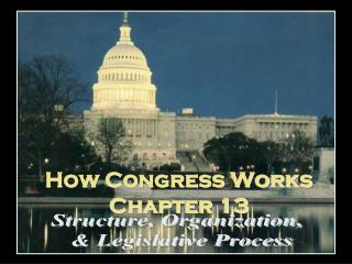 How Congress Works Chapter 13