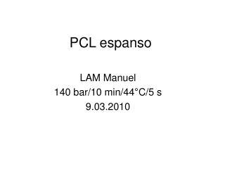 PCL espanso