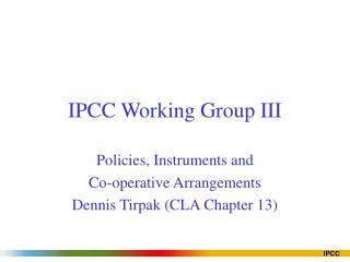 IPCC Working Group III