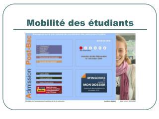 Mobilit é des étudiants